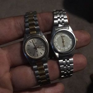 Pair of Seiko women's watches